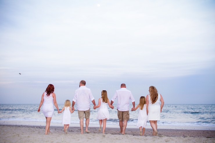 Myrtle Beach family photography backshot
